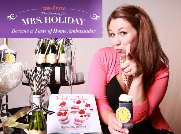 courtney whitmore for taste of home mrs holiday search